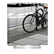 Riding Uptown Shower Curtain