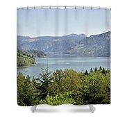 Riffe Lake Shower Curtain