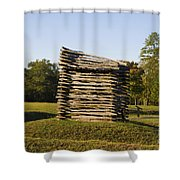 Rifle Tower Ninety Six National Historic Site Shower Curtain