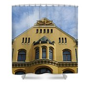 Riga Cat House Shower Curtain