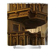 Riga Cathedral 2 Shower Curtain