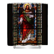 Riga Cathedral 4 Shower Curtain