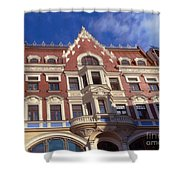 Riga Old Town 5 Shower Curtain