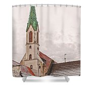 Riga St Johns Church Shower Curtain