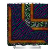 Right Angles Shower Curtain