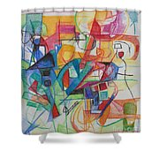 Righteous Step 5 Shower Curtain