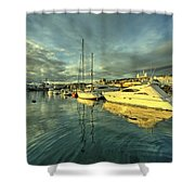 Rijekan Reflections Shower Curtain
