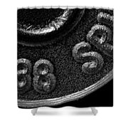 Rim And Primer 38 Special Shower Curtain by Bob Orsillo