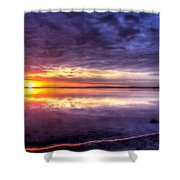 Rim Of Fire  Shower Curtain
