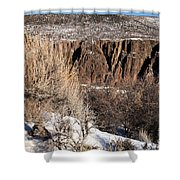 Rim Of The Black Canyon Shower Curtain