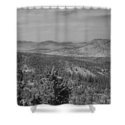Rim Of The World Views Shower Curtain