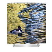 Ring-neck Reflections Shower Curtain