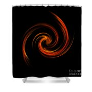 Ring Of Fire Shower Curtain