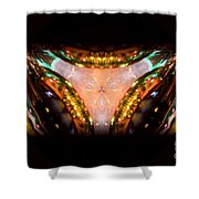 Ring Of Jewels Shower Curtain