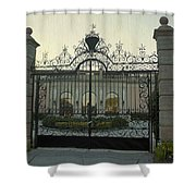 Ringling Gate Shower Curtain