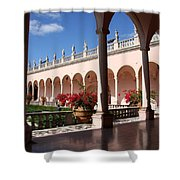 Ringling Museum Arcade Shower Curtain