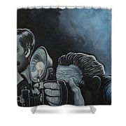 Ringside Press Shower Curtain