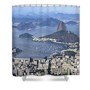 Rio De Janeiro 1 Shower Curtain