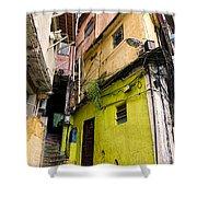 Rio De Janeiro Brazil -  Favela Housing Shower Curtain