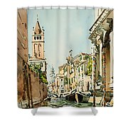 Rio Di San Barnaba - Venice Shower Curtain