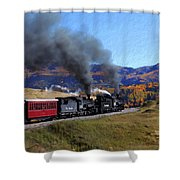 Rio Grande 488 And 489 Shower Curtain