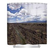 Rio Grande Gorge Shower Curtain