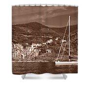 Riomaggiore Cinque Terre Shower Curtain