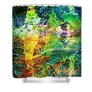 Ripened Vines Shower Curtain