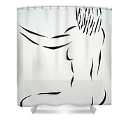 Ripose 2 Shower Curtain