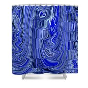Ripple Abstract Shower Curtain