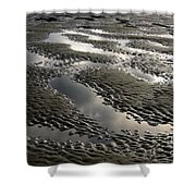 Rippled Sand Shower Curtain