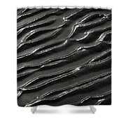 Ripples 8 Shower Curtain