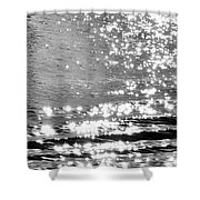 Ripples And Diamonds Shower Curtain