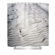 Ripples In The Sand Shower Curtain