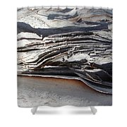 Ripples Of Waves Shower Curtain