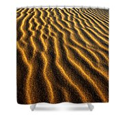 Ripples Oregon Dunes National Recreation Area Shower Curtain