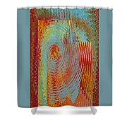 Rippling Colors No 3 Shower Curtain