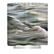 Rippling Water Shower Curtain