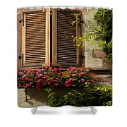 Riquewihr Window Shower Curtain