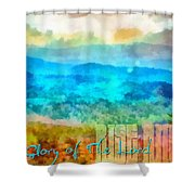Rise Among Us Shower Curtain