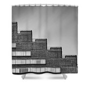 Rise To The Challenge Shower Curtain by Evelina Kremsdorf