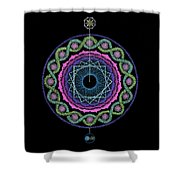 Rising Above Challenges Shower Curtain
