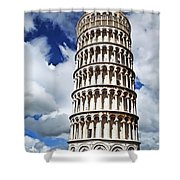 Rising Into The Tuscany Sky Shower Curtain