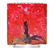 Rising Up II Shower Curtain