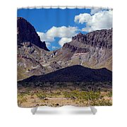 Route 66 Scenery Shower Curtain