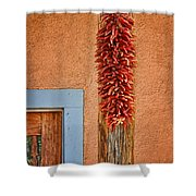 Ristra And Door Shower Curtain