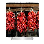 Ristras 1 Hatch New Mexico Shower Curtain