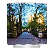 Rittenhouse Square Park Shower Curtain