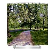Ritter Park Paths Shower Curtain