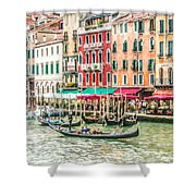 Riva Del Vin Shower Curtain